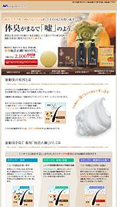 soapmax|柿のさち|ランディングページ