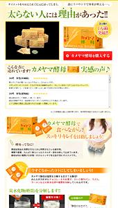 カメヤマ酵母|ランディングページ